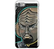 Worf Princess Leia iPhone Case/Skin