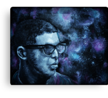 Drake in space Canvas Print