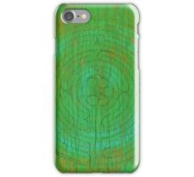 Abstract_Veriditas Labyrinth iPhone Case/Skin