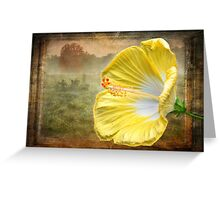 Beauty Served Two Ways Greeting Card