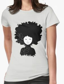 Untitled Silhouette Womens Fitted T-Shirt