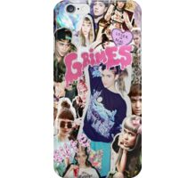 Grimes Collage iPhone Case/Skin
