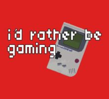 I'd Rather Be Gaming - Gameboy by therealvrex