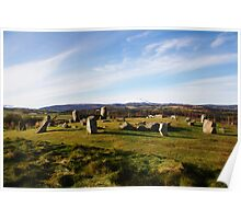 Tomnaverie Stone Circle Poster