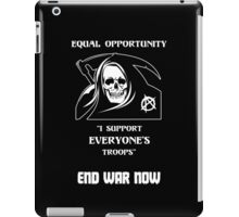 Equal Opportunity Grim Reaper iPad Case/Skin