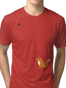 Fox and crow Tri-blend T-Shirt