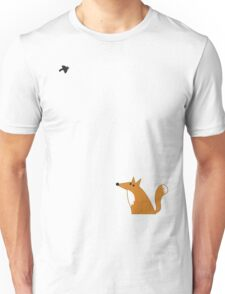 Fox and crow Unisex T-Shirt