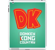 Donkey Kong Country glow print iPad Case/Skin