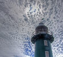 South Mole Lighthouse - Fremantle -HDR by Colin  Williams Photography