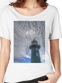 South Mole Lighthouse - Fremantle -HDR Women's Relaxed Fit T-Shirt