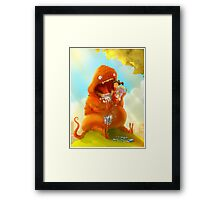 Brush Your Teeth! Framed Print