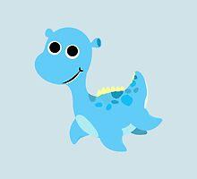 Cute little Loch Ness Monster by Eggtooth