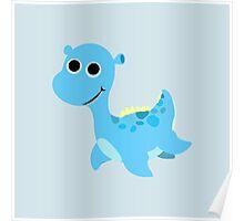 Cute little Loch Ness Monster Poster
