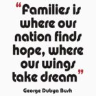 '...Where our wings take dream...' - from the surreal George Dubya Bush series by gshapley