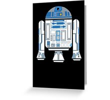 R2-D2 Android Greeting Card