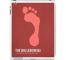 The Big Lebowski minimalist print iPad Case/Skin
