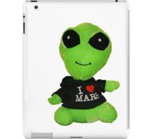 Little Alien iPad Case/Skin