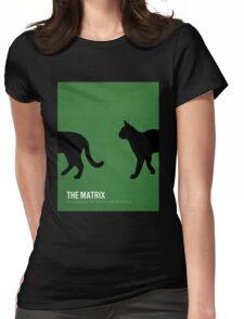 The Matrix minimalist print Womens Fitted T-Shirt