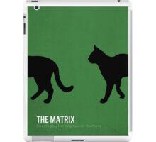The Matrix minimalist print iPad Case/Skin
