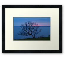Cool Dawn Framed Print