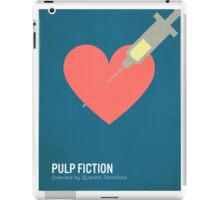 Pulp Fiction minimalist print iPad Case/Skin