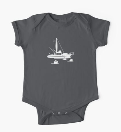 Jaws - Orca with Barrels One Piece - Short Sleeve