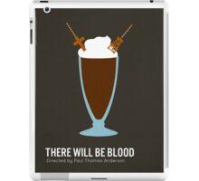 There Will Be Blood minimalist print iPad Case/Skin