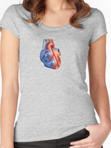 Twin Turbo Heart Women's Fitted Scoop T-Shirt