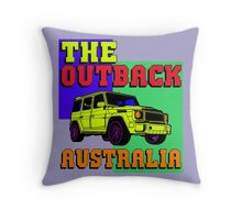 THE OUTBACK Throw Pillow