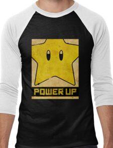 Super Mario Star Propaganda Men's Baseball ¾ T-Shirt