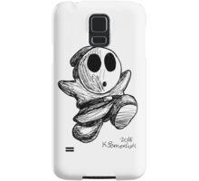 Shy Guy Doodle Samsung Galaxy Case/Skin