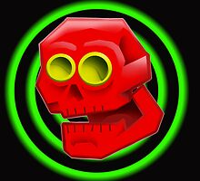 RED SKULLY by EDLFDESIGNS