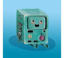 Who Wants to Play Video Games? :: BMO Digital Painting Photographic Print