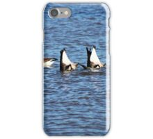 Diving For Food iPhone Case/Skin
