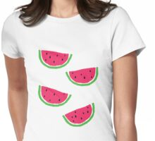 A Little Watermelon Womens Fitted T-Shirt