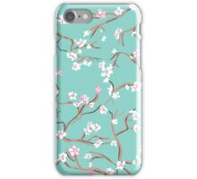 Cherry Blossoms in Pastel iPhone Case/Skin