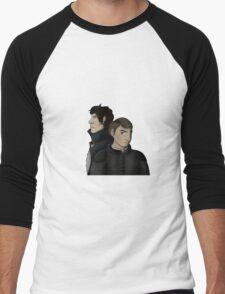 John and Sherlock Men's Baseball ¾ T-Shirt