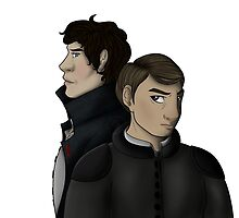 John and Sherlock by Pooky15