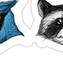 Mordecai & Rigby Sticker