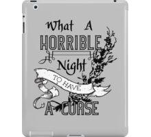 A Cursed Night iPad Case/Skin