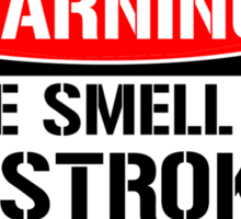 Warning - The smell of 2 stroke makes me horny. Sticker
