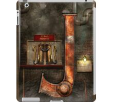 Steampunk - Alphabet - J is for Jet Pack iPad Case/Skin