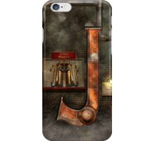 Steampunk - Alphabet - J is for Jet Pack iPhone Case/Skin