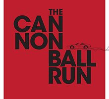 The Cannonball Run - Ferrari 308 GTS by cottoncreative
