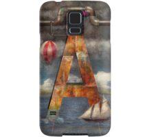 Steampunk - Alphabet - A is for Adventure Samsung Galaxy Case/Skin