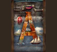 Steampunk - Alphabet - A is for Adventure T-Shirt