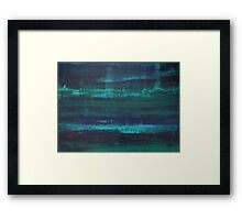 Abyssal - Abstract Art Framed Print