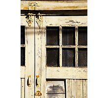 Old Garage Photographic Print