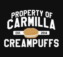 property of carmilla creampuffs by msanimanga