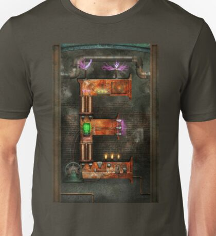 Steampunk - Alphabet - E is for Electricty Unisex T-Shirt